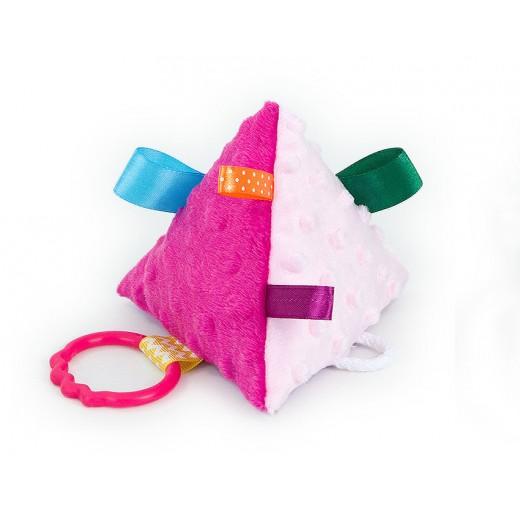 Hračka MINKY - pyramida růžová