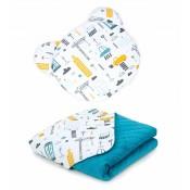Set polštářek a deka